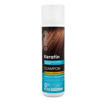 Dr. Sante Keratin Hair szampon do włosów łamliwych i matowych odbudowujący 250 ml