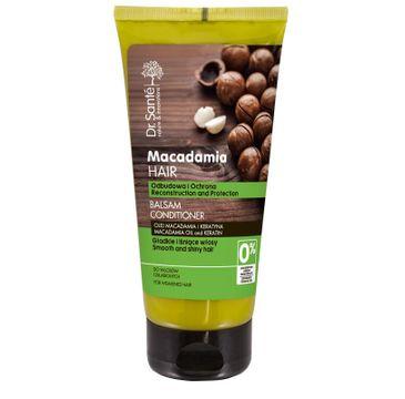 Dr. Sante Macadamia Hair balsam do włosów osłabionych odbudowujący 200 ml