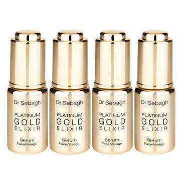 Dr Sebagh Platinum Gold Elixir Serum odmładzające serum do twarzy 4x10ml