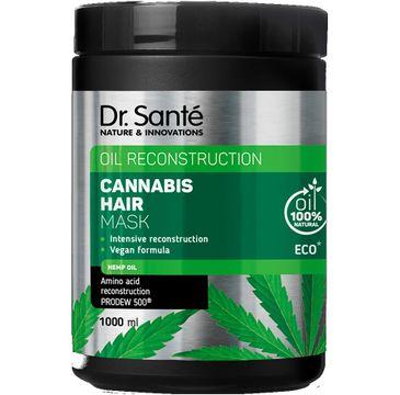 Dr.Sante Cannabis Hair Rewitalizująca Maska do włosów (1000 ml)