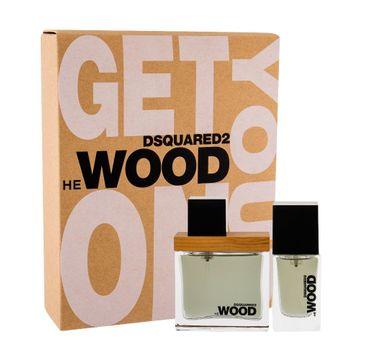 Dsquared2 He Wood zestaw woda toaletowa spray 30ml + woda toaletowa spray 15ml