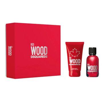 Dsquared2 Red Wood Pour Femme zestaw woda toaletowa spray 100ml + balsam do ciała 150ml (1 szt.)