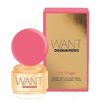 Dsquared Want Pink Ginger for Woman perfumowana spray 30ml