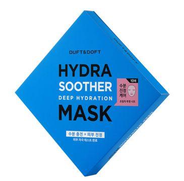 Duft & Doft Hydra Soother Deep Hydration Deep Hydration Mask maska nawilżająca 5x30ml