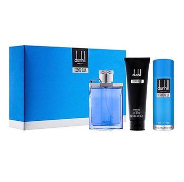 Dunhill – Desire Blue zestaw woda toaletowa spray 100ml + żel pod prysznic 90ml + dezodorant spray 195ml (1 szt.)