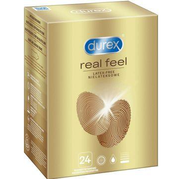 Durex prezerwatywy bez lateksu Real Feel 24 szt bezlateksowe