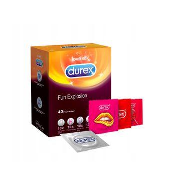 Durex – prezerwatywy Fun Explosion mix zestaw (40 szt.)