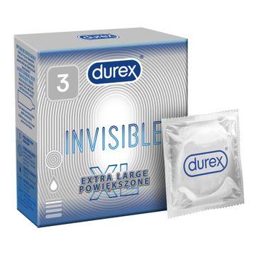 Durex – Prezerwatywy Invisible XL (3 szt.)
