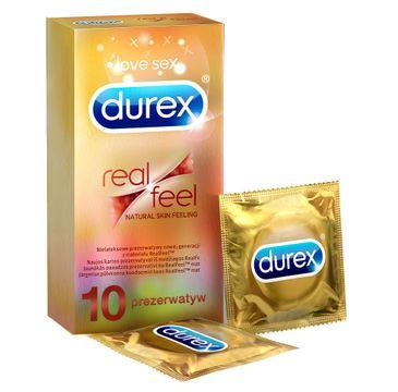 Durex Real Feel prezerwatywy bezlateksowe 10 szt.