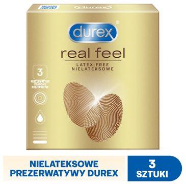 Durex Real Feel prezerwatywy bezlateksowe 3 szt.