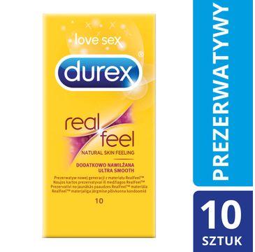 Durex Real Feel Ultra Smooth prezerwatywy 10 szt.