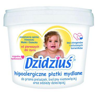 Dzidziuś – Hipoalergiczne płatki mydlane do prania bielizny niemowlęcej i dziecięcej (400 g)