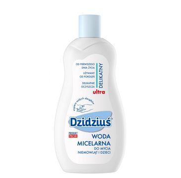 Dzidziuś woda micelarna do mycia dla dzieci i niemowląt 500 ml