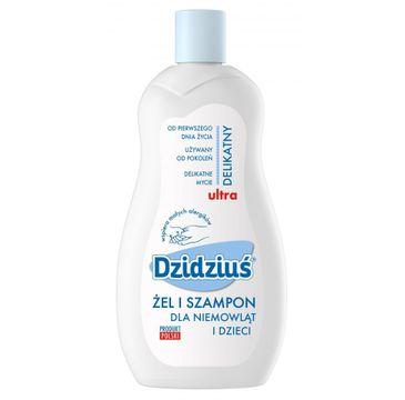 Dzidziuś że-szampon dla niemowląt i dzieci z proteinami pszenicznymi 500 ml