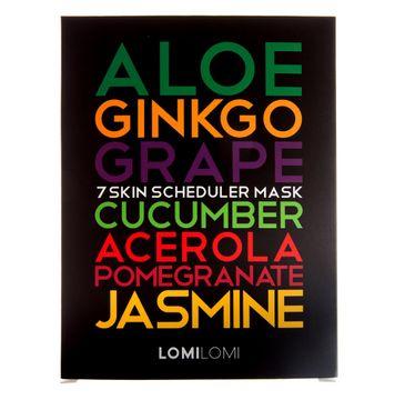 Lomi Lomi 7 Skin Scheduler Mask – zestaw maseczek na każdy dzień tygodnia (7 szt.)