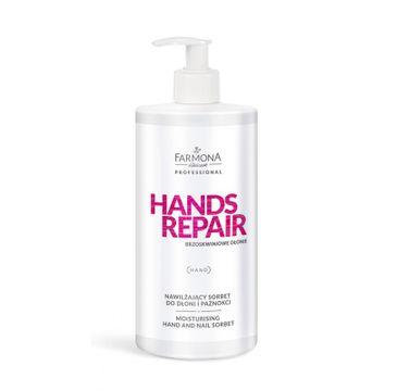 Farmona Professional – Hands Repair nawilżający sorbet do dłoni i paznokci (500 ml)