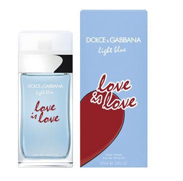 Dolce & Gabbana Light Blue Love Is Love Pour Femme – woda toaletowa spray (100 ml)