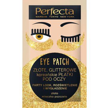 Perfecta – Eye Patch płatki pod oczy glitter 1 op. (2 szt.)