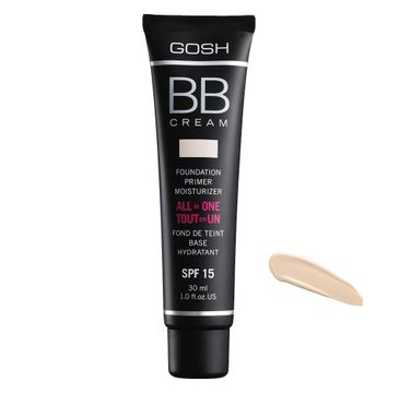 Gosh BB Cream All In One (wielofunkcyjny krem BB SPF 15 01 Sand 30 ml)
