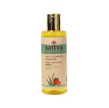 Sattva – Nawilżający szampon ziołowy Mango (210 ml)