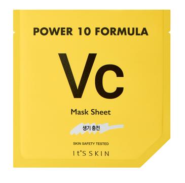It's Skin – Power 10 Formula Mask Sheet VC rozjaśniająca maska w płachcie z witaminą C (25 ml)
