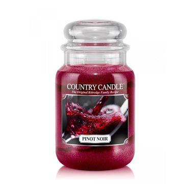 Country Candle – świeca zapachowa z dwoma knotami Pinot Noir (652 g)