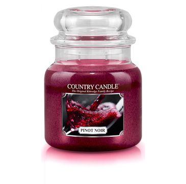 Country Candle – świeca zapachowa z dwoma knotami Pinot Noiri (453 g)