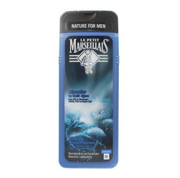 Le Petit Marseillais – żel pod prysznic 3w1 dla mężczyzn Minerały i Drzewo Cedrowe (400 ml)
