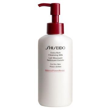 Shiseido – Extra Rich Cleansing Milk oczyszczające mleczko do twarzy (125 ml)