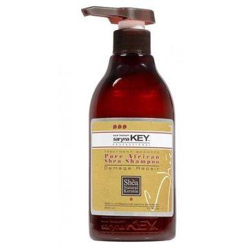 Saryna Key – Pure African Shea Shampoo Damage Repair regenerujący szampon do włosów suchych i zniszczonych (500 ml)
