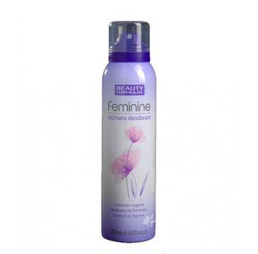 Beauty Formulas – Feminine Intimate Deodorant dezodorant do higieny intymnej (150 ml)
