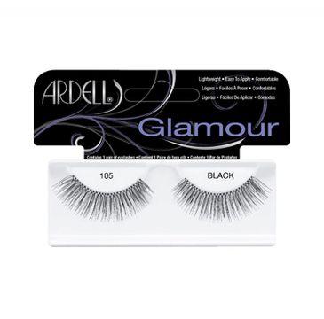 Ardell – Glamour 105 1 para sztucznych rzęs Black (1 para)