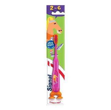 Signal – Toothbrush szczoteczka do zębów dla dzieci 2-6 lat Soft 91 szt.)