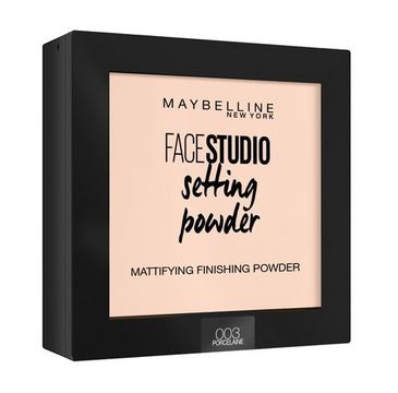 Maybelline Face Studio Setting Powder puder do twarzy 003 Porcelaine 9g