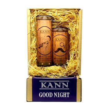 KANN Good Night Man – zestaw Night Cream krem na noc (50 ml) + Eye Crem krem pod oczy (15 ml)