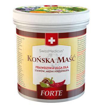 SwissMedicus – Końska Maść rozgrzewająca Forte (250 ml)