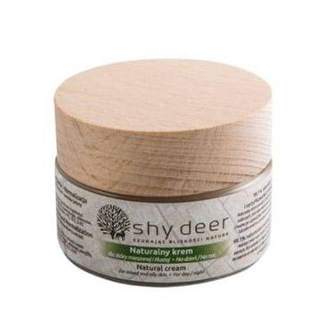 Shy Deer Natural Cream naturalny krem do skóry mieszanej i tłustej 50ml