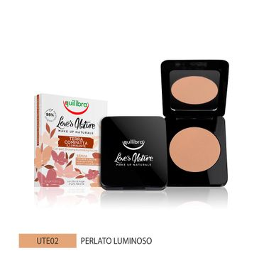 Equilibra Love's Nature Compact Bronzing Powder puder brązujący 02 Pearly Bright (8.5 g)