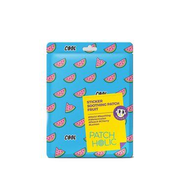 Patch Holic – Kojące płatki do naklejania Sticker Soothing Patch- Fruit (12 g)