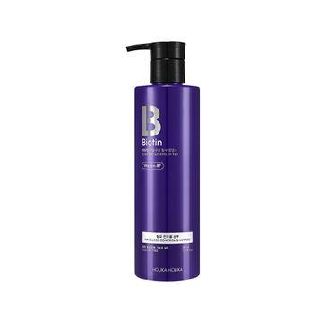 HOLIKA HOLIKA – Biotin Hair Loss Control Shampoo szampon do włosów łamliwych i wypadających (390 ml)