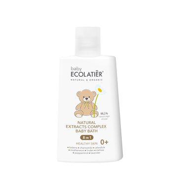 Ecolatier Baby kompleks naturalnych ekstraktów 8w1 do kąpieli 0+ (250 ml)