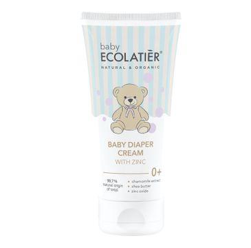 Ecolatier Baby Krem dla niemowląt z cynkiem 0+ (100 ml)