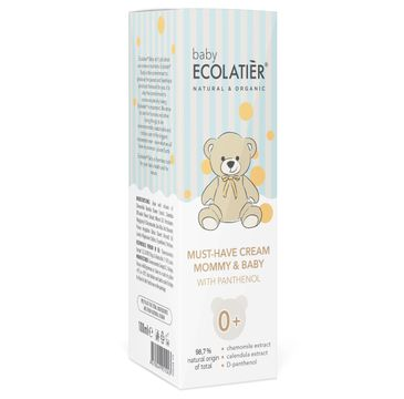 Ecolatier Baby Krem z pantenolem Mommy & Baby 0+ (100 ml)