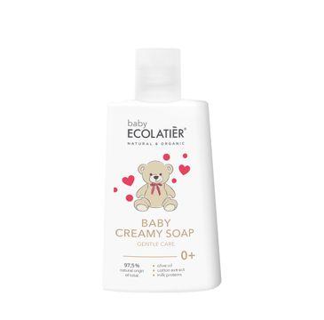 Ecolatier Baby kremowe mydło dla niemowląt delikatna pielęgnacja 0+ (250 ml)