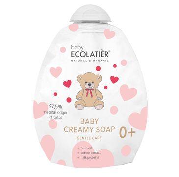 Ecolatier Baby kremowe mydło dla niemowląt delikatna pielęgnacja 0+ DOY-PACK (250 ml)
