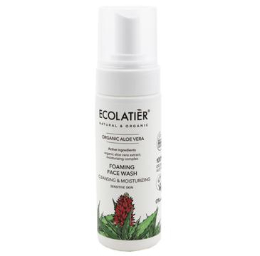 Ecolatier Organic Aloe Vera Pianka do mycia twarzy - cera wrażliwa (150 ml)