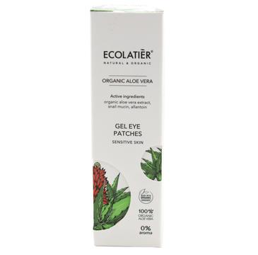 Ecolatier Organic Aloe Vera żel pod oczy ze śluzem ślimaka cera wrażliwa (30 ml)