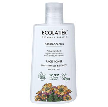 Ecolatier Organic Cactus tonik wygładzający do twarzy każdy rodzaj cery (250 ml)