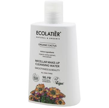 Ecolatier Organic Cactus Woda micelarna do demakijażu twarzy - każdy rodzaj cery (250 ml)