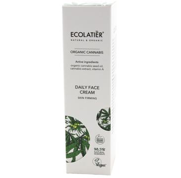 Ecolatier Organic Cannabis krem ujędrniający do twarzy na dzień (50 ml)